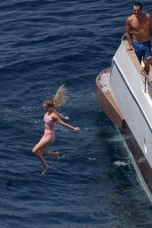 Sydney Sweeney in a Bikini - Italy 07/28/2021