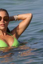 Sylvie Meis in a Bikini - Saint Tropez 07/22/2021