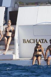 Sylvie Meis on a Yacht in Saint-Tropez 07/20/2021