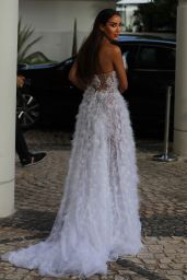 Tamara Kalinic - Leaving Hotel Martinez in Cannes 07/16/2021