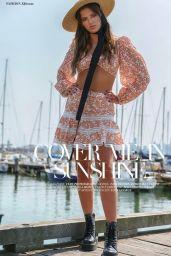 Taya Brooks - Ellements Magazine July 2021 Issue