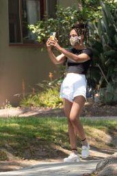 Tessa Thompson - Shopping in Los Angeles 07/20/2021