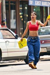 """Teyana Taylor - """"A Thousand and One"""" Set in Harlem NYC 07/27/2021"""