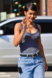 """Teyana Taylor - """"A Thousand and One"""" Set in NYC 07/26/2021"""