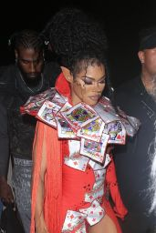 Teyana Taylor - Pretty Little Thing Madhouse Event at Wisdome in LA 07/03/2021