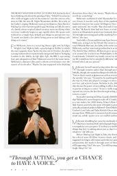 Thomasin McKenzie - Harper's Bazaar US August 2021 Issue