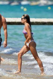 Thylane Blondeau in a Bikini at Club 55 Beach in St-Tropez 07/27/2021