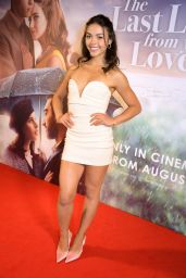 """Vanessa Bauer - """"The Last Letter From Your Lover"""" Premiere in London"""