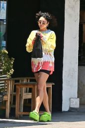 Vanessa Hudgens in Casual Outfit - LA 06/30/2021