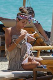 Vian Rasool at the Beach Mykonos 07/26/2021