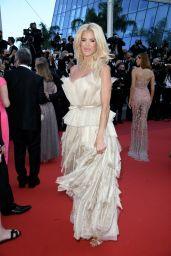 "Victoria Silvstedt – ""De Son Vivant (Peaceful)"" Red Carpet at the 74th Cannes Film Festival"