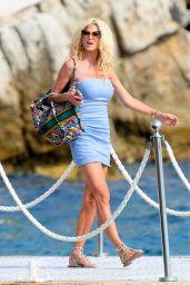 Victoria Silvstedt - Eden Roc Hotel in Antibes 07/04/2021