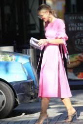 Vogue Williams at Heart radio in London 07/18/2021