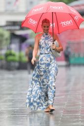 Vogue Williams in a Summer Dress - London 07/04/2021