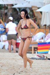 Wendi Deng Murdoch in a Bikini - New Year