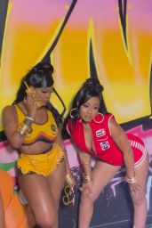 Young Miami and JT - Saweetie's Birthday Party in LA 07/03/2021
