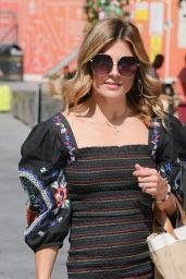 Zoe Hardman in a Puff Shoulder Mini Dress - London 07/19/2021