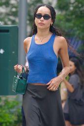 Zoë Kravitz - Out in New York 07/25/20221