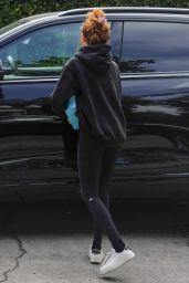 Zoey Deutch - Leaving a Pilates Class in West Hollywood 06/30/2021