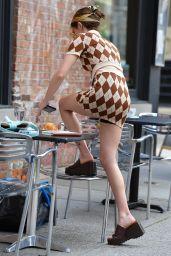 "Zoey Deutch - ""Not Ok"" Filming Set in New York 07/30/2021"