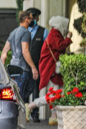 Adele - Out at The Peninsula Hotel in Beverly Hills 08/18/2021