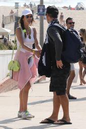 Alessandra Ambrosio and Richard Lee at AVP in Manhattan Beach 08/22/2021