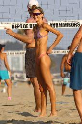 Alessandra Ambrosio at Santa Monica Beach 08/15/2021