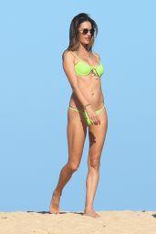 Alessandra Ambrosio in a Bikini at the Beach in Trancoso 07/30/2021