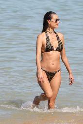 Alessandra Ambrosio in a Bikini - Beach in Trancoso 08/01/2021