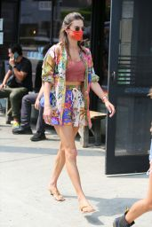 Alessandra Ambrosio - Out in Los Angeles 08/16/2021