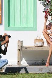 Alessandra Ambrosio - Photoshoot in Trancoso 07/31/2021