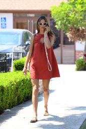 Alessandra Ambrosio Sports a Retro-Inspired Look - Brentwood 08/25/2021