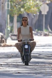 Alessandra Ambrosio Takes Her Son