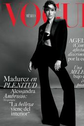 Alessandra Ambrosio - Vogue Mexico August 2021 Issue