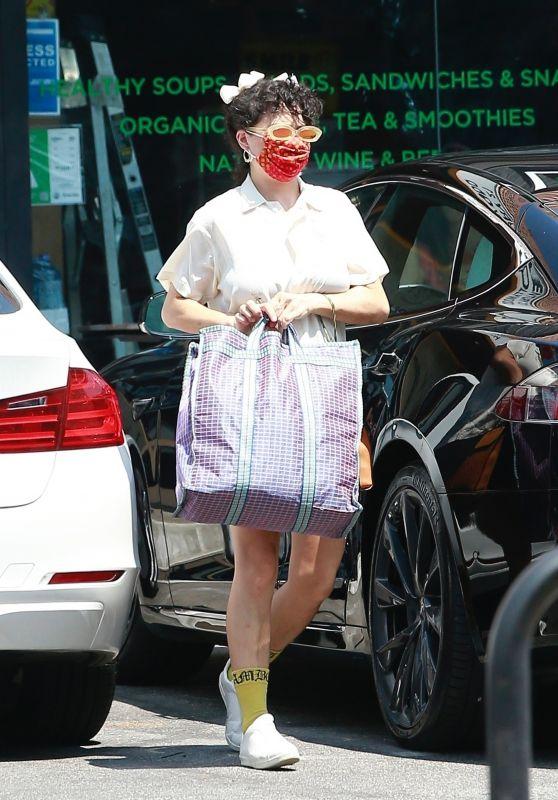 Alia Shawkat Dressed in Her Signature Quirky Style - Los Feliz 08/25/2021