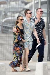 Alicia Vikander and Michael Fassbender - Out in Ibiza 08/23/2021