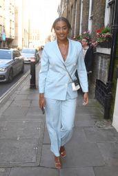Amal Fashanu - LGBT Awards in London 08/27/2021