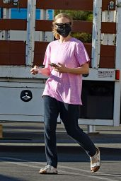"""Amanda Seyfried as Elizabeth Holmes at """"The Dropout"""" Set in Los Angeles 08/02/2021"""