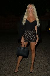 Amber Turner Night Out Style - Melin Restaurant in Chigwell 08/05/2021