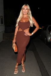 """Amber Turner – """"The Only Way is Essex"""" TV Show Press Night in Bournemouth 08/28/2021"""