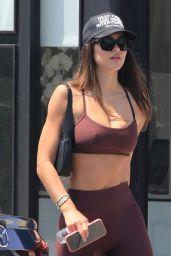 Amelia Hamlin in Gym Ready Outfit - Los Angeles 08/13/2021