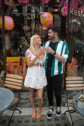 Amelia Mist and Scott McGlynn - Out in London, August 2021