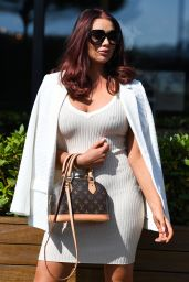 """Amy Childs – """"The Only Way is Essex"""" TV Show Filming 08/25/2021"""
