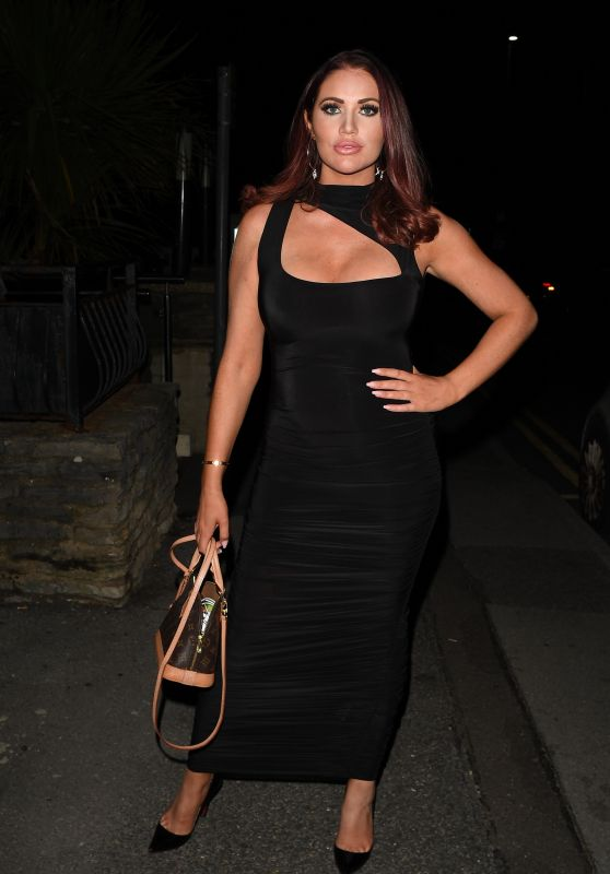 """Amy Childs – """"The Only Way is Essex"""" TV Show Press Night in Bournemouth 08/28/2021"""