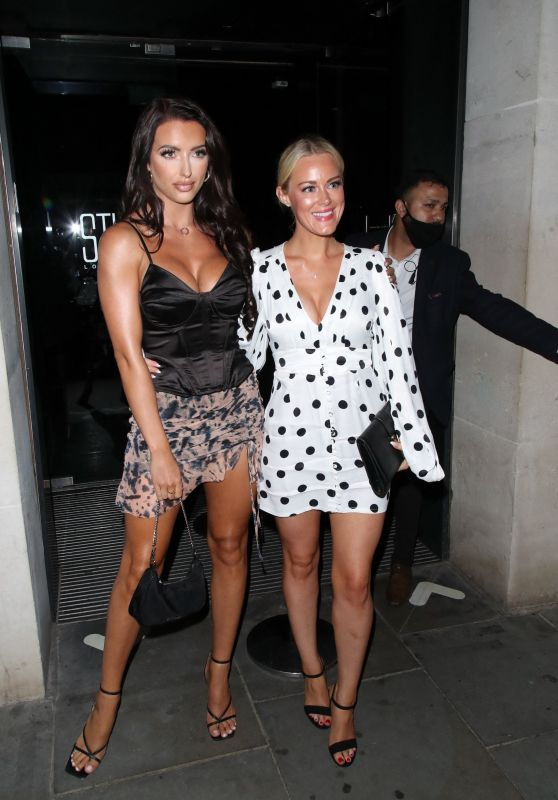 Amy Day and Georgia Townsend - STK in London 08/13/2021