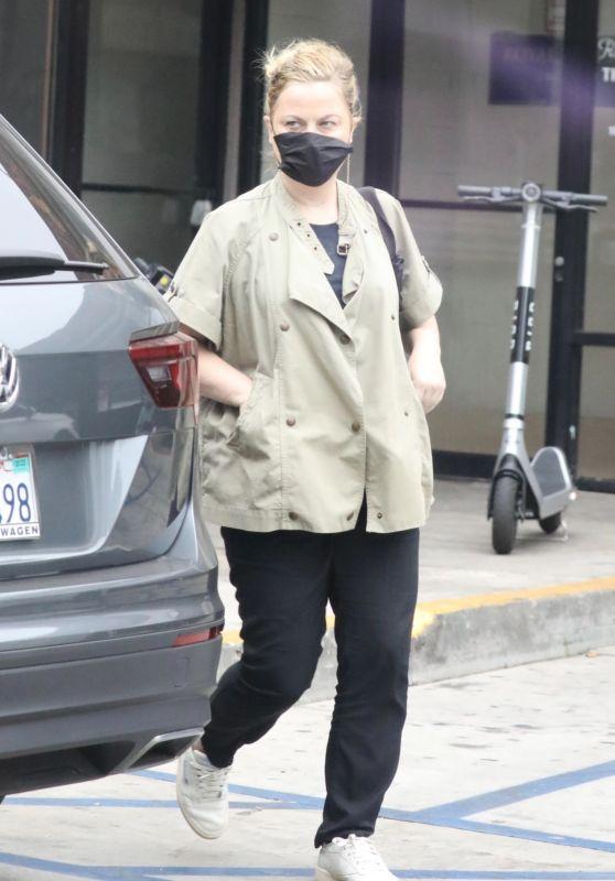 Amy Poehler Running Errands in West Hollywood 08/20/2021