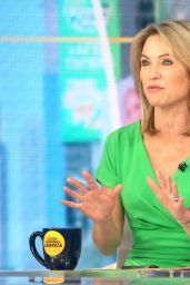 Amy Robach - GMA TV Show in New York 08/18/2021