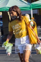 Angela Bassett - Shopping at Whole Foods in La 08/09/2021