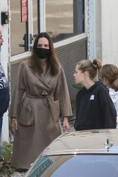Angelina Jolie - Out in Burbank 08/20/2021