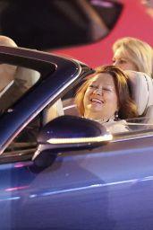 Ariarne Titmus Gets a Ride With Gina Reinhart - Brisbane 08/23/2021